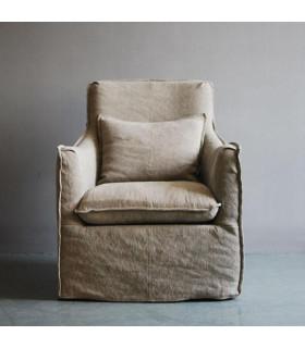 Calm 比利時亞麻沙發椅
