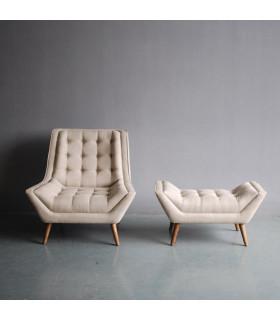 ELLE 比利時亞麻沙發椅