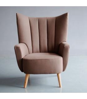 經典繭型椅背休閒沙發