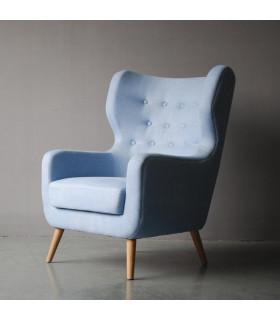 Nordic 比利時水洗亞麻沙發椅