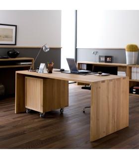 Kubus 老柚木工作桌