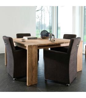 FISSURE 二抽屜方型餐桌/工作桌