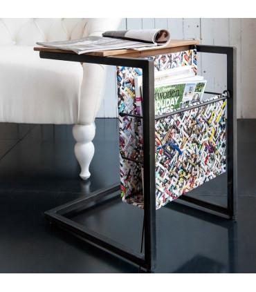 Home Solutions 雜誌編織小邊桌