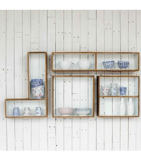 Home Solutions 幾何框架牆面組合櫃