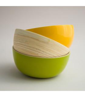 天然手工竹製飯碗(S)
