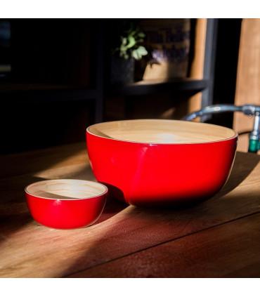 天然手工竹製餐碗(XL)