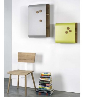 Shell殼型壁掛收納箱 - 小型