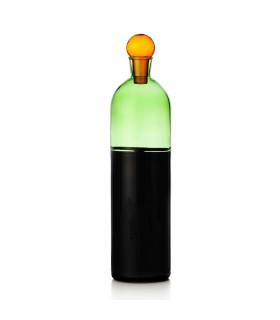 LIGHT多彩水瓶-草綠色/墨黑色
