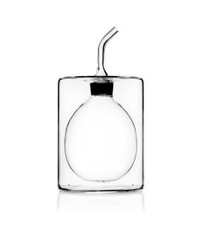 CILINDRO雙層玻璃橄欖油醋罐-低款