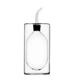 CILINDRO雙層玻璃橄欖油醋罐-高款