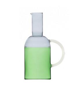 TEKILA水壺-煙燻灰/草綠色