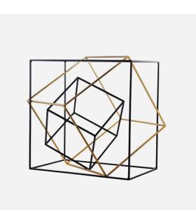 3in1幾何透視雕塑