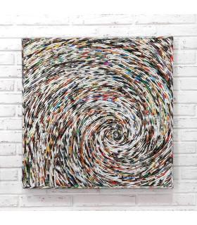 Home Solutions雜誌編織掛飾 - 單螺旋編織