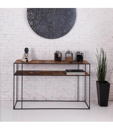 Mondrian 風格派幾何二層玄關桌