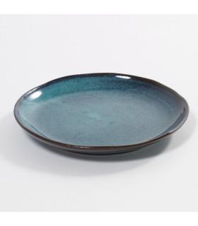 Aqua點心盤-碧海色