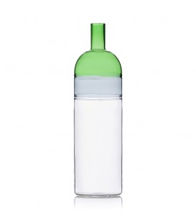 TEQUILA漸層水瓶-草綠色/煙燻灰/透明
