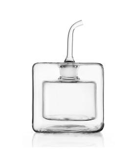CUBE雙層玻璃橄欖油醋罐