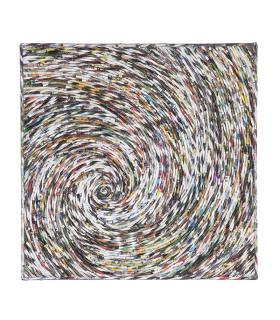 Home Solutions 雜誌編織掛飾 - 單螺旋編織