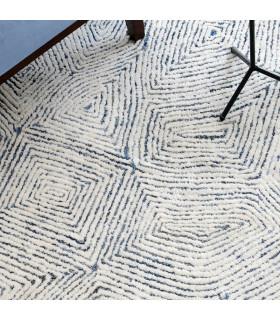 Damascus 丹寧羊毛地毯