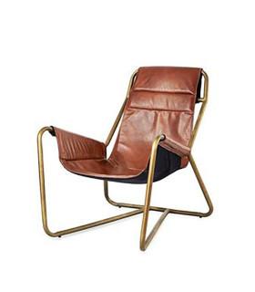 Sling 皮革休閒椅