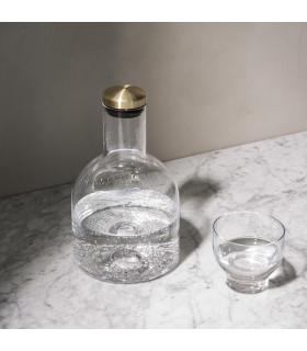Bottle Carafe 黃銅玻璃瓶(寬)