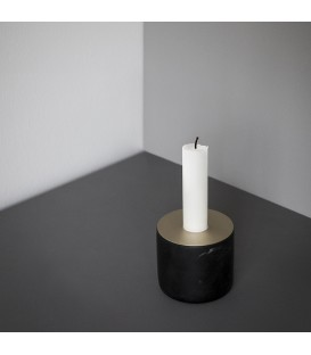 Chunk 黑色大理石燭台