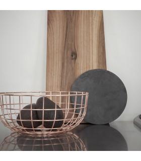 Wire Bowl 線圈置物碗(紅銅)