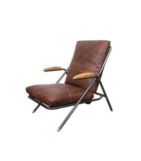 Styvest 皮革扶手休閒椅