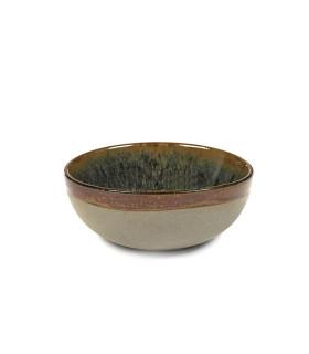 Surface 釉陶餐碗 - 潑墨色