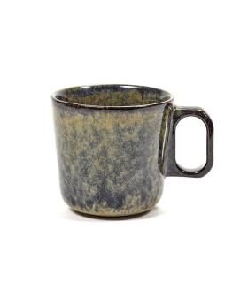 Surface 釉陶馬克杯 - 潑墨色