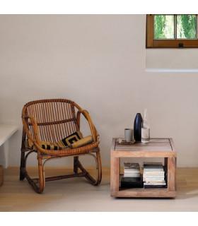 Duplex 方型邊桌 (橡木款)