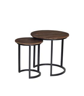 Fendy 圓形母子咖啡桌