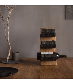 Home Solutions 立式車胎編織酒架