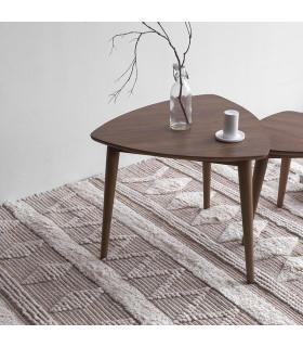 Vintage 斯堪地經典三角形子母咖啡桌