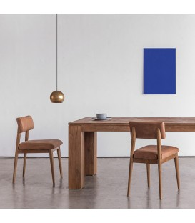 Vintage 斯堪地經典植鞣皮革餐椅