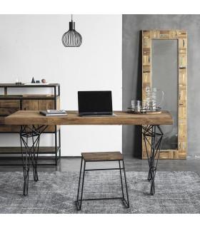 Celebes 原始風格鋼筋桌腳餐桌