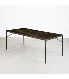 Kulu 焦燻橡木餐桌