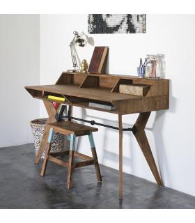 Tango 二抽屜叉腿書桌