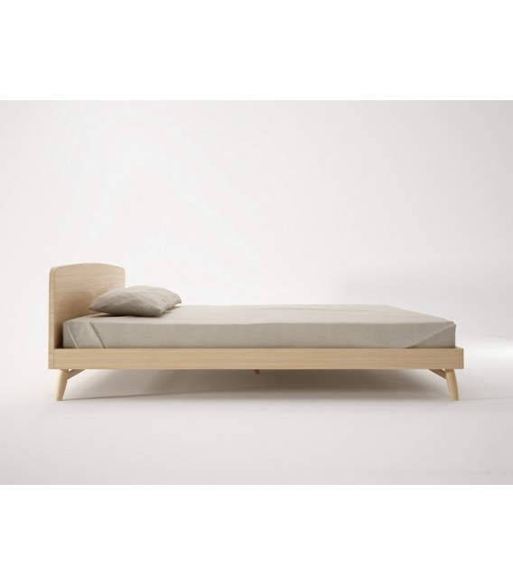 Twist斯堪地雅趣床架 - 歐洲白橡木
