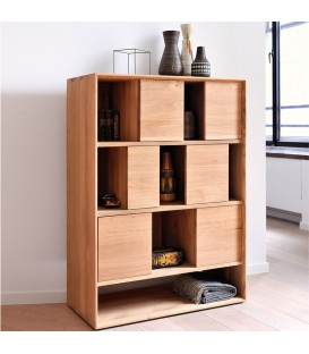 Nordic 幾何變化書櫃/儲物櫃