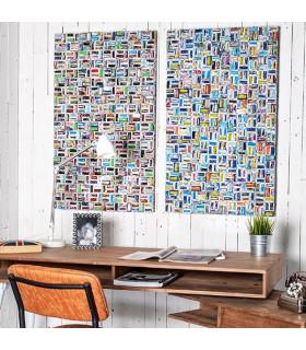 Home Solutions 幾何方錐編織掛飾