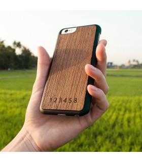 ETEAQ 老柚木 iPhone 6/6s 保護套