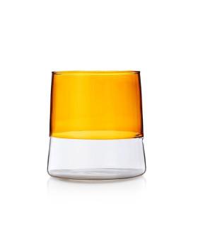 LIGHT多彩酒杯-琥珀色/透明