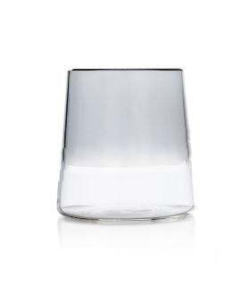 LIGHT多彩酒杯-煙燻灰/透明