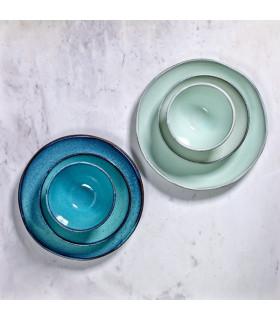 Aqua淺碟-蒼綠色