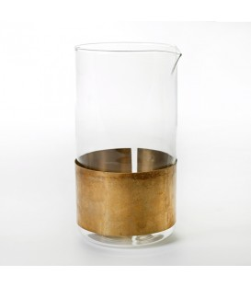 Copper Chemistry黃銅玻璃水壺