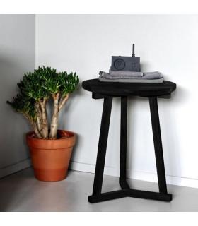 Tripod 凳型邊桌 (黑色)