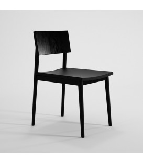Vintage斯堪地經典餐椅 - 黑色
