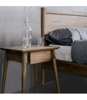 Vintage 斯堪地經典抽屜床頭櫃