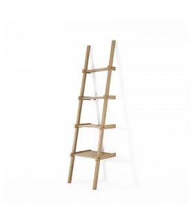 Simply City 階梯置物層架 - 橡木款